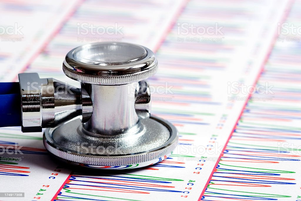 Medicine and genetics royalty-free stock photo