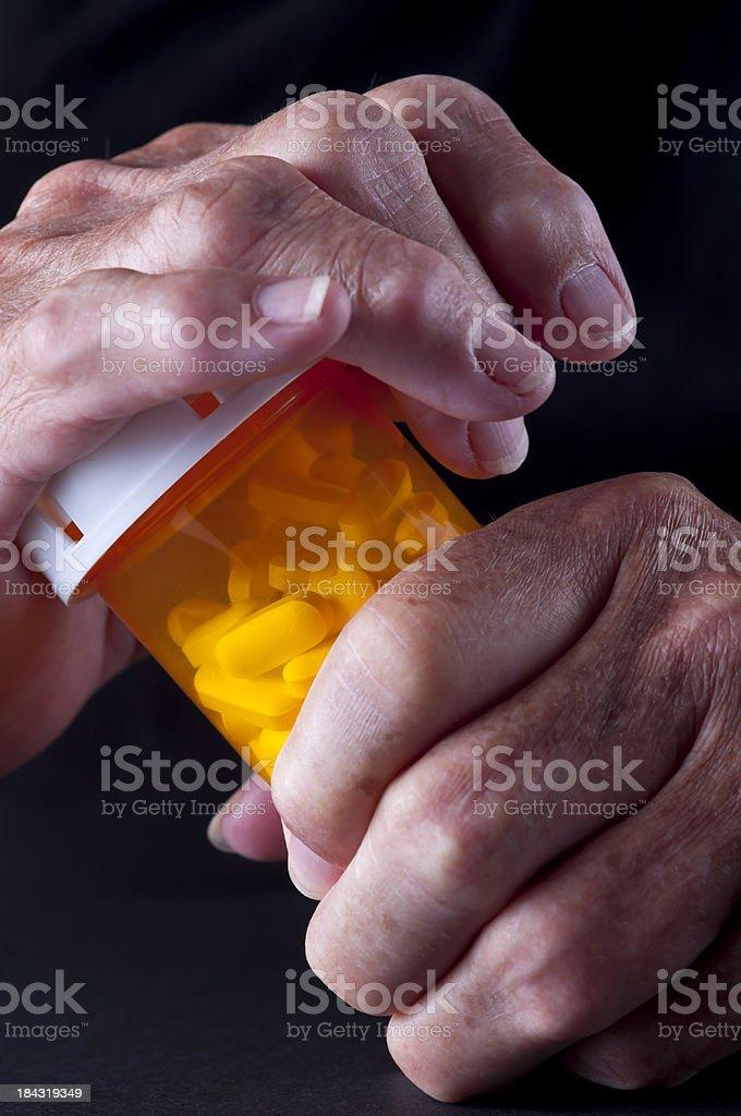 Medicine Arthritis royalty-free stock photo