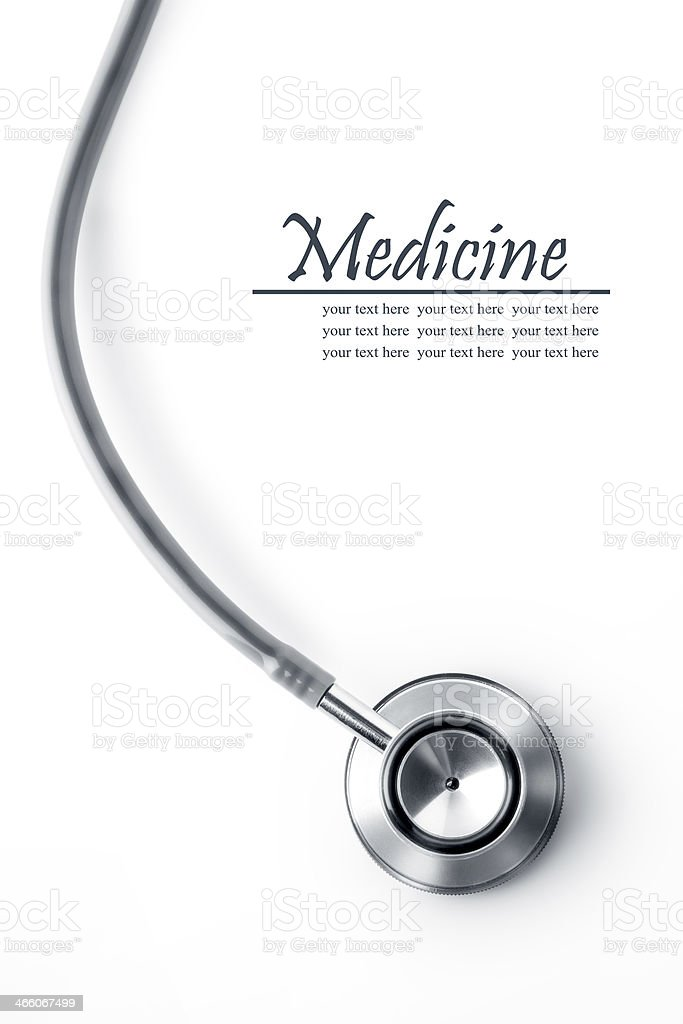 medicine banner stock photo