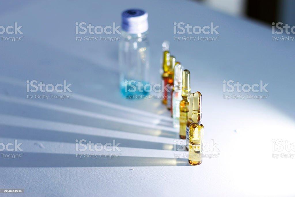 medicine bottle stock photo