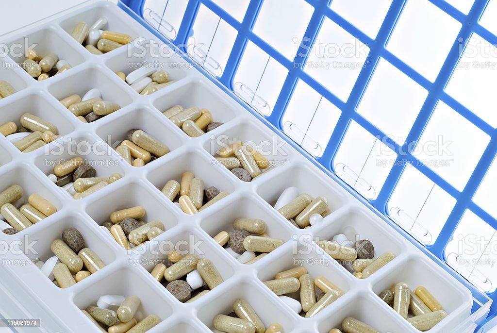 Medicine Box - Pill Organizer royalty-free stock photo