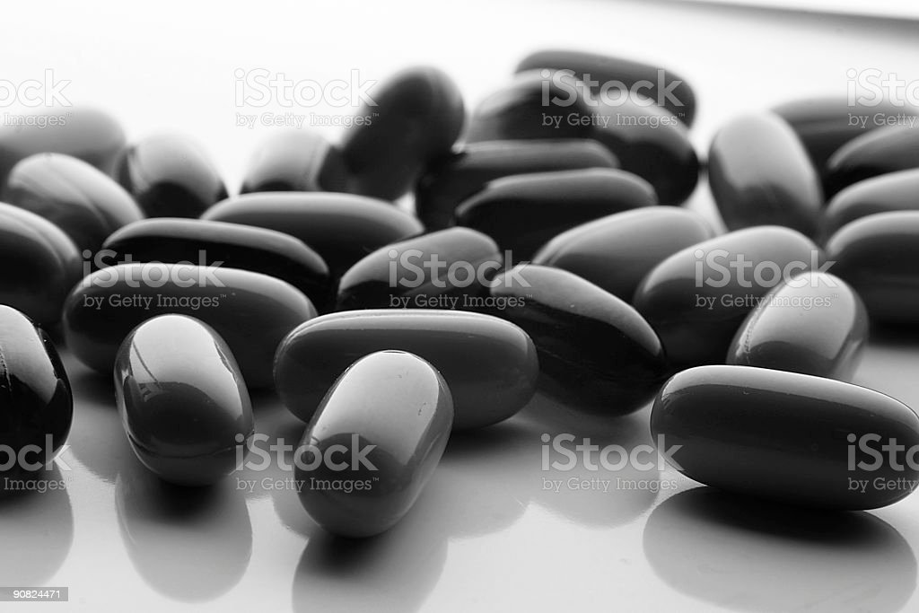 Medicine BW royalty-free stock photo