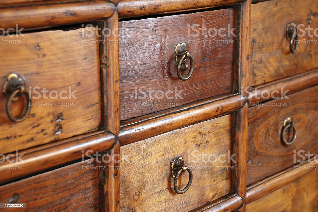 Medicine cabinet closeup royalty-free stock photo