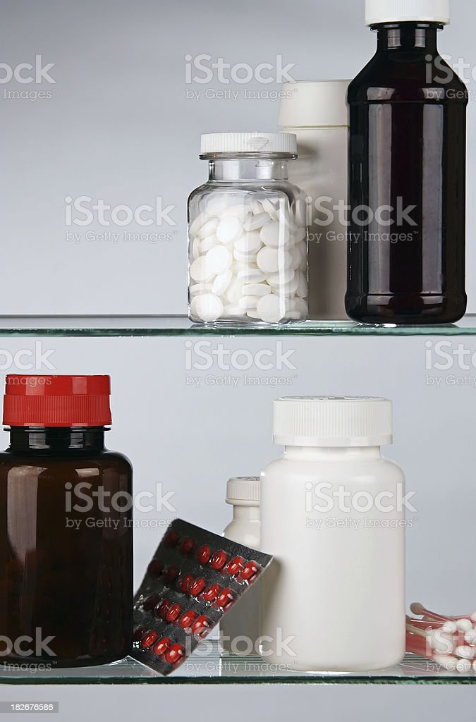 Medicine Cabinet royalty-free stock photo