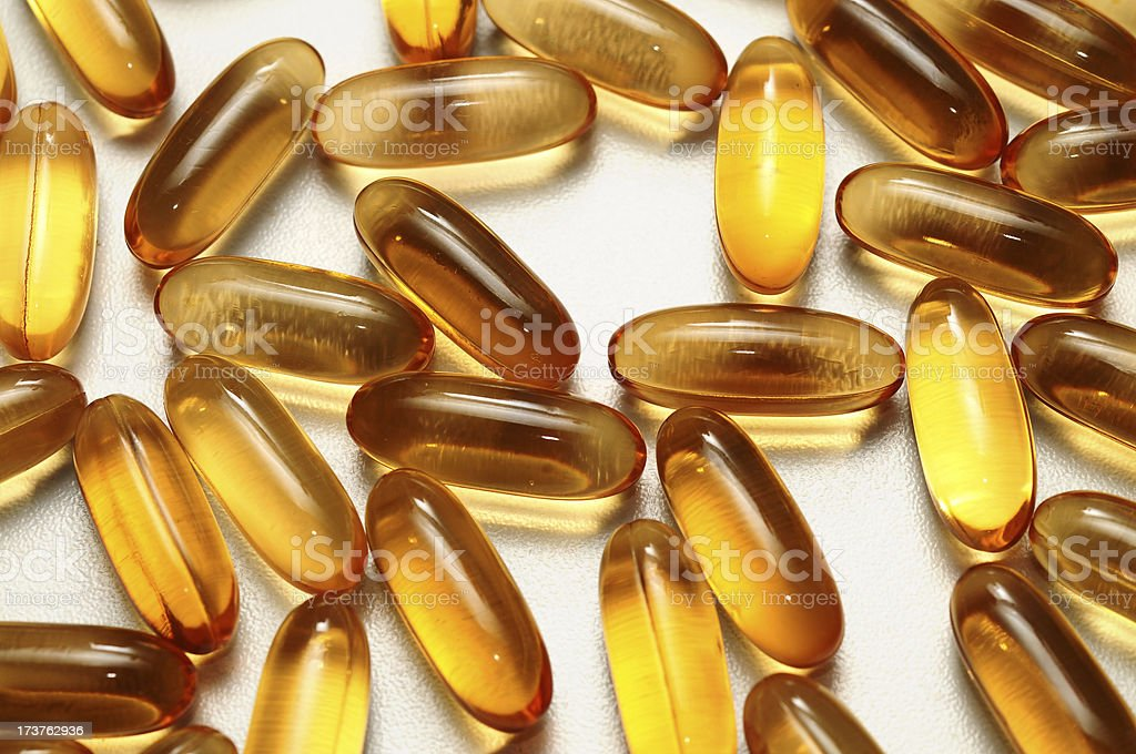 Medicine Capsules royalty-free stock photo