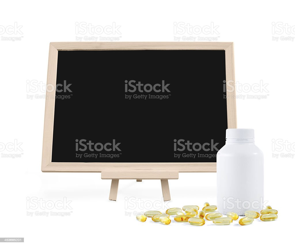Medicine list royalty-free stock photo