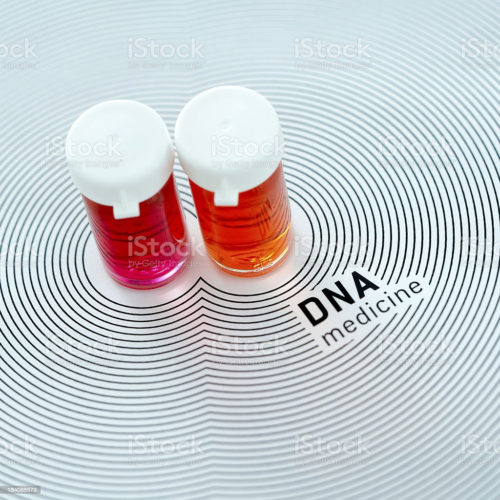 DNA - Medicine royalty-free stock photo