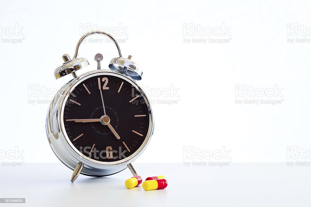 Medicine time royalty-free stock photo