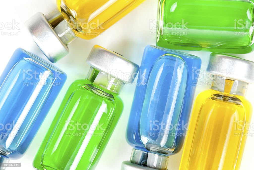 Medicine Vials royalty-free stock photo