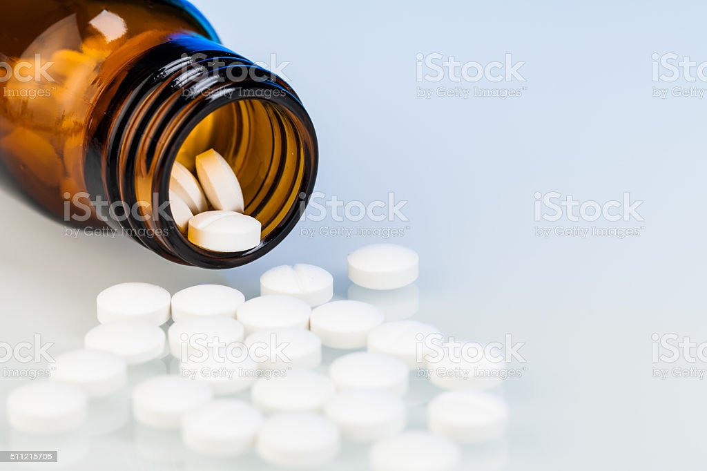 medicines and drug pills stock photo