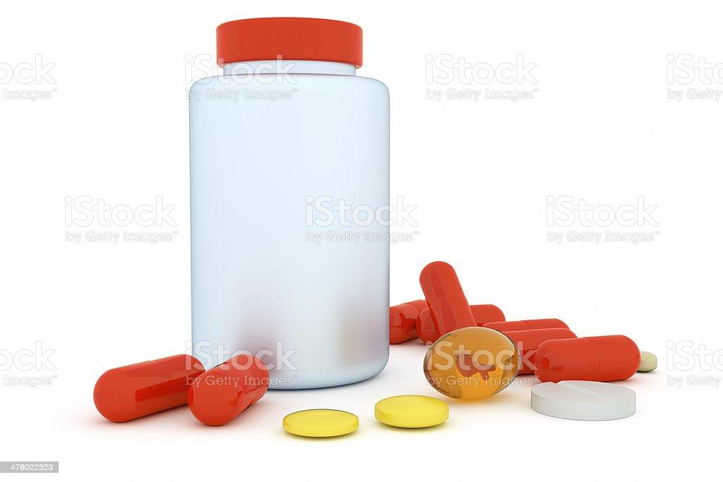 medicines royalty-free stock photo