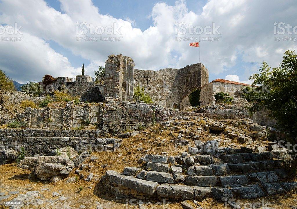 Medieaval town Bar ruins royalty-free stock photo