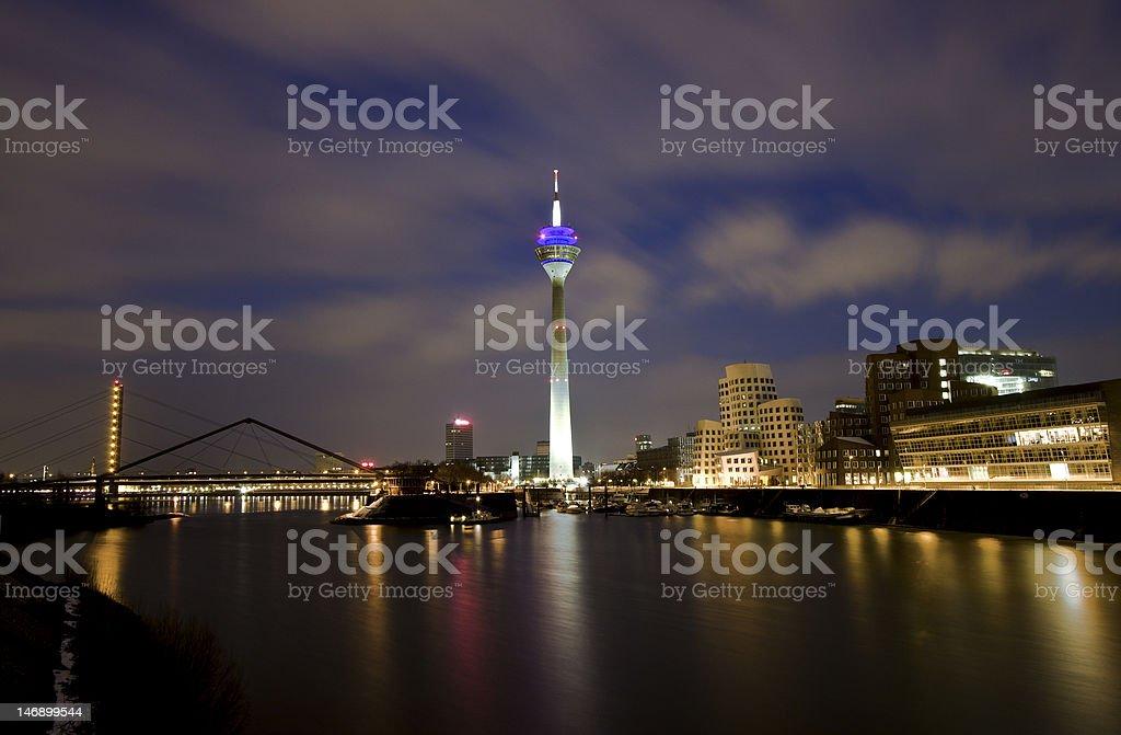 Medienhafen Duesseldorf stock photo