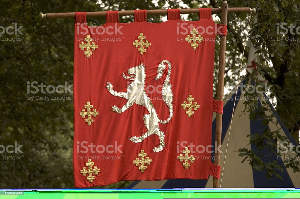 Medieval Banner royalty-free stock photo