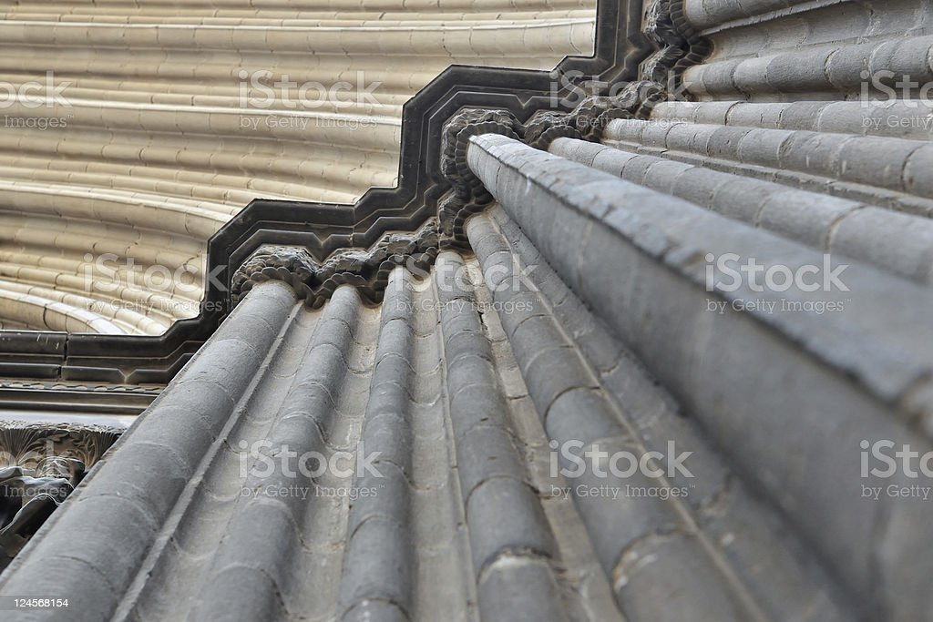 medieval Barcelona royalty-free stock photo