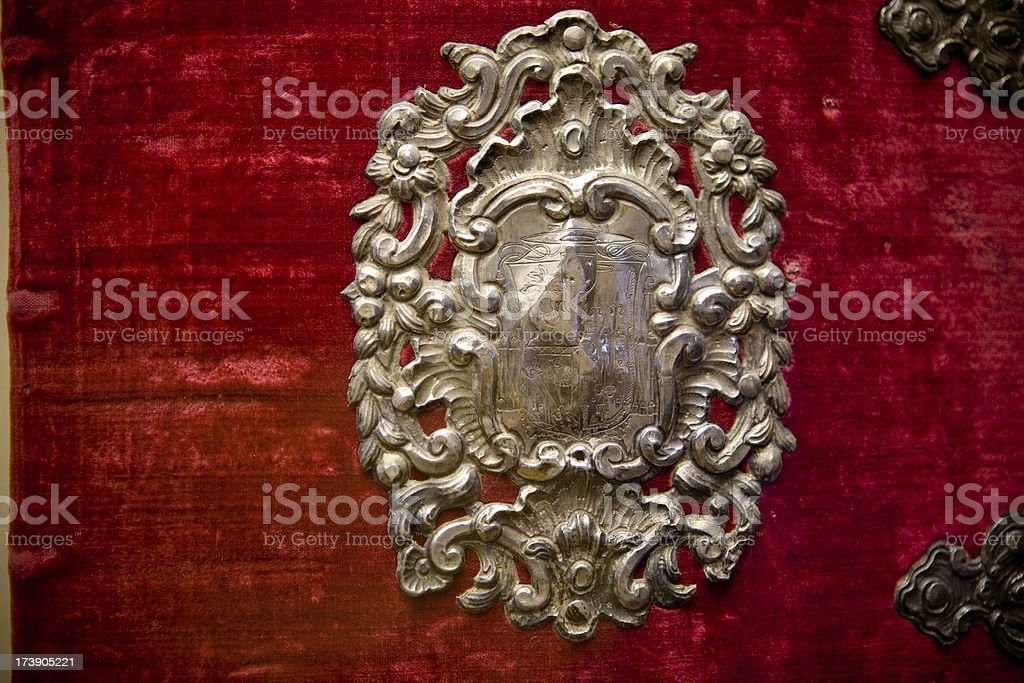 Medieval Book cover royalty-free stock photo