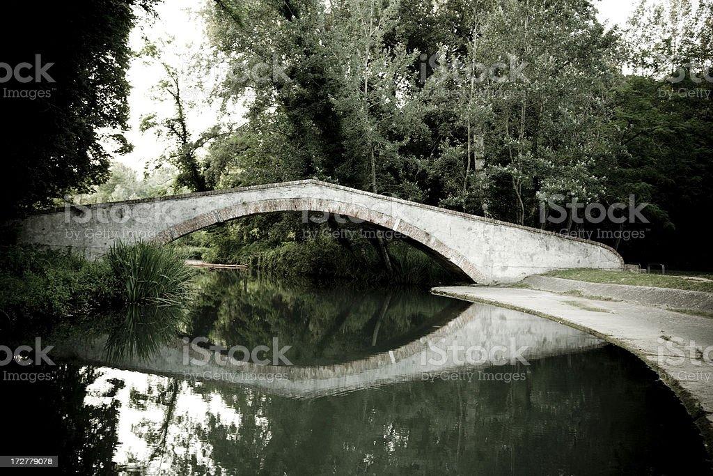 Medieval Bridge royalty-free stock photo