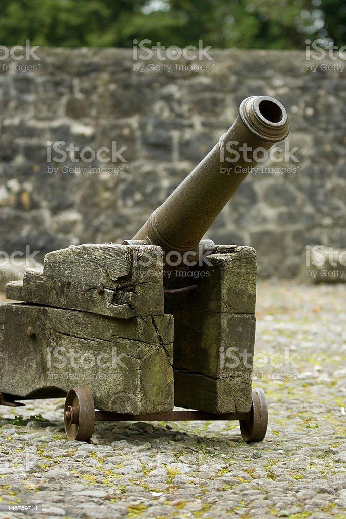 Medieval Canon stock photo