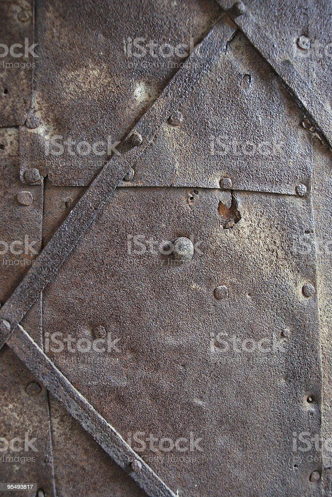 Medieval Castle Door royalty-free stock photo