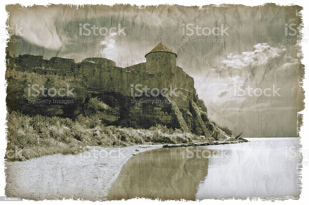 Medieval castle royalty-free stock photo