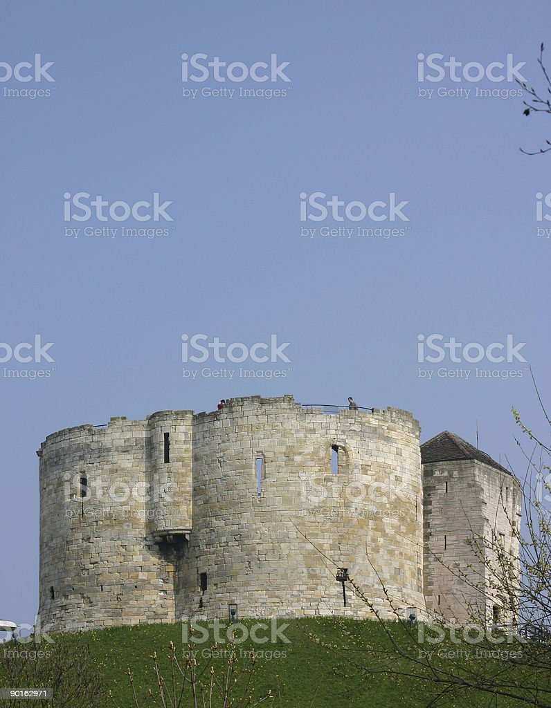 Medieval Castle Turret royalty-free stock photo
