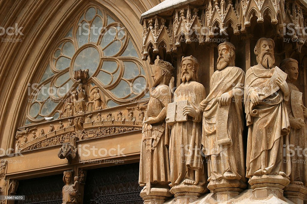Medieval Cathedral royalty-free stock photo