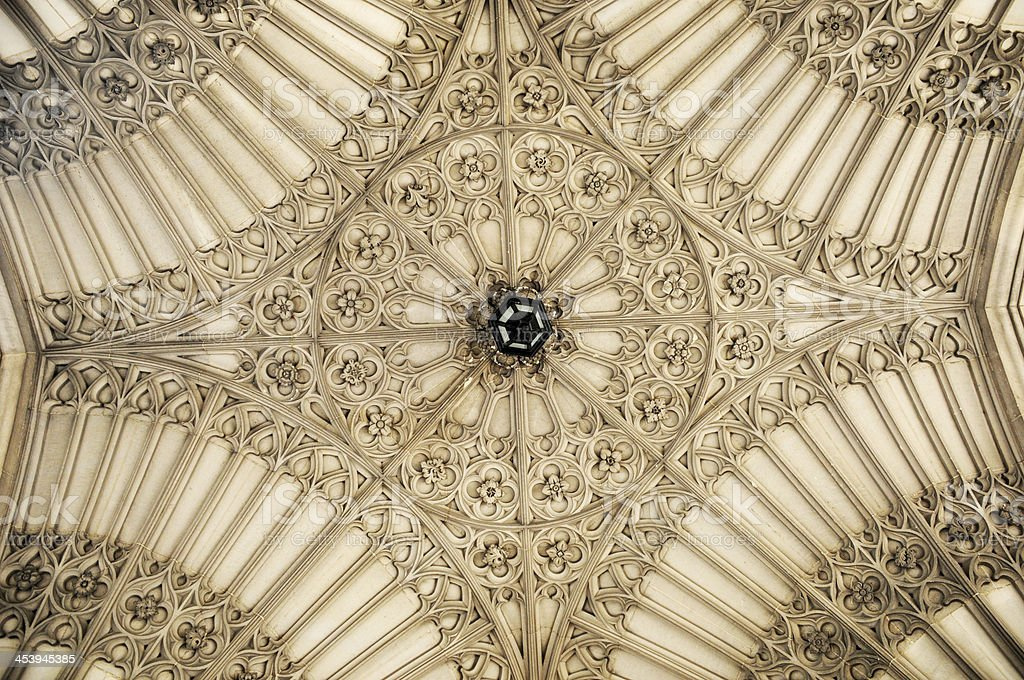 medieval ceiling royalty-free stock photo