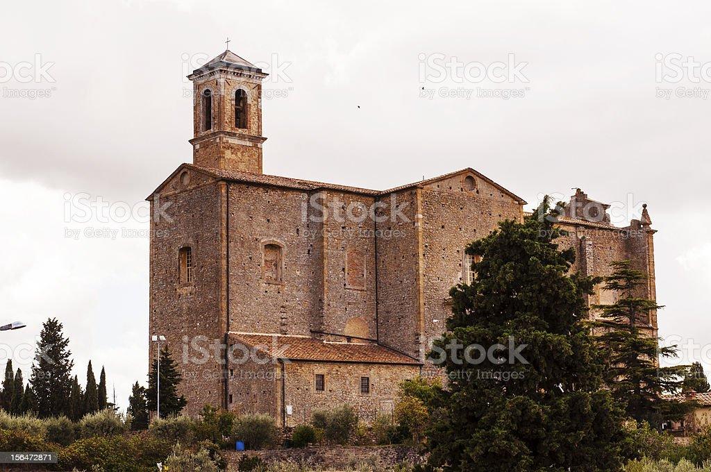 Medieval Church royalty-free stock photo