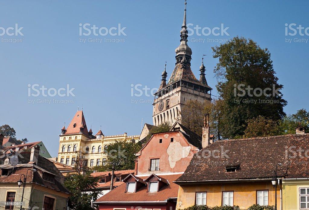 Medieval citadel stock photo
