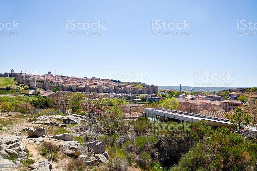 Medieval city Avila royalty-free stock photo