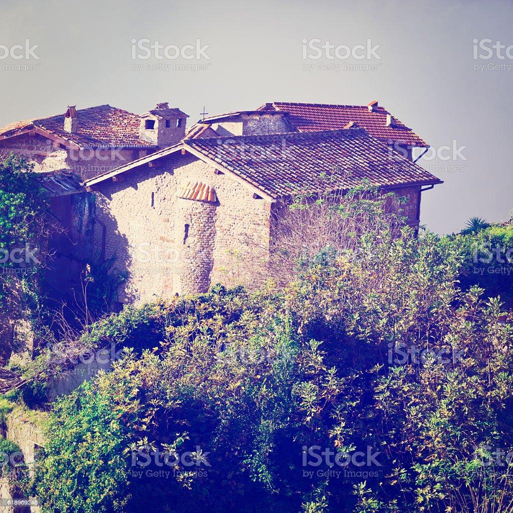 Medieval  City stock photo