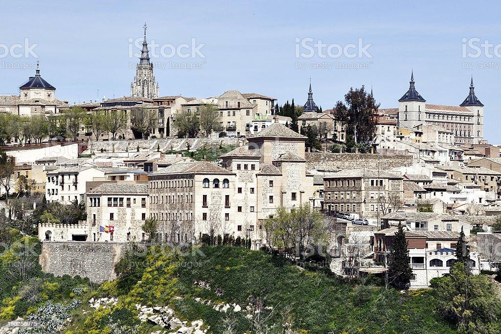 Medieval city Toledo, Spain stock photo