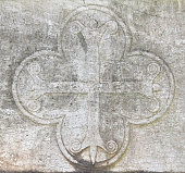 Medieval cross relief