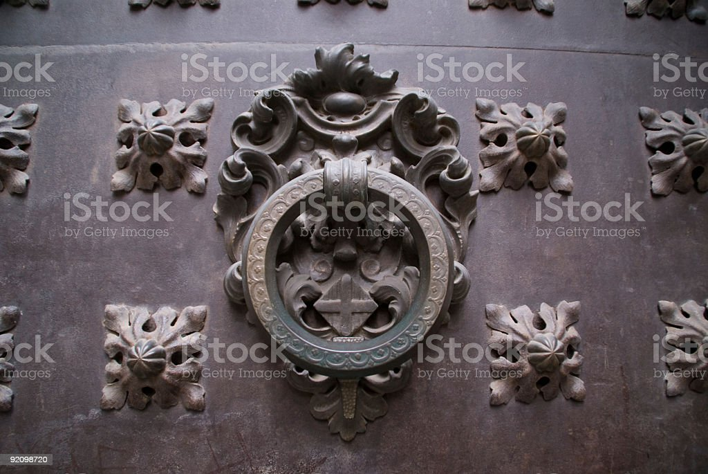 Medieval Door royalty-free stock photo
