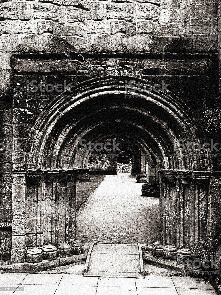 Medieval Doorway stock photo