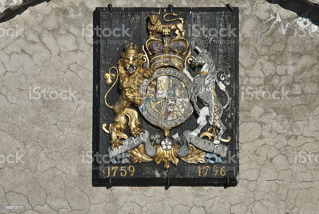 Medieval emblem royalty-free stock photo