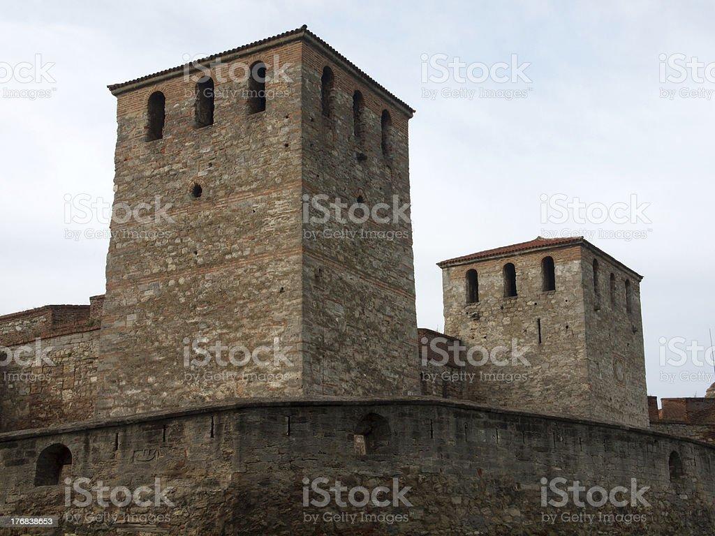 'Medieval fortress  Baba Vida,  Vidin, Bulgaria' stock photo