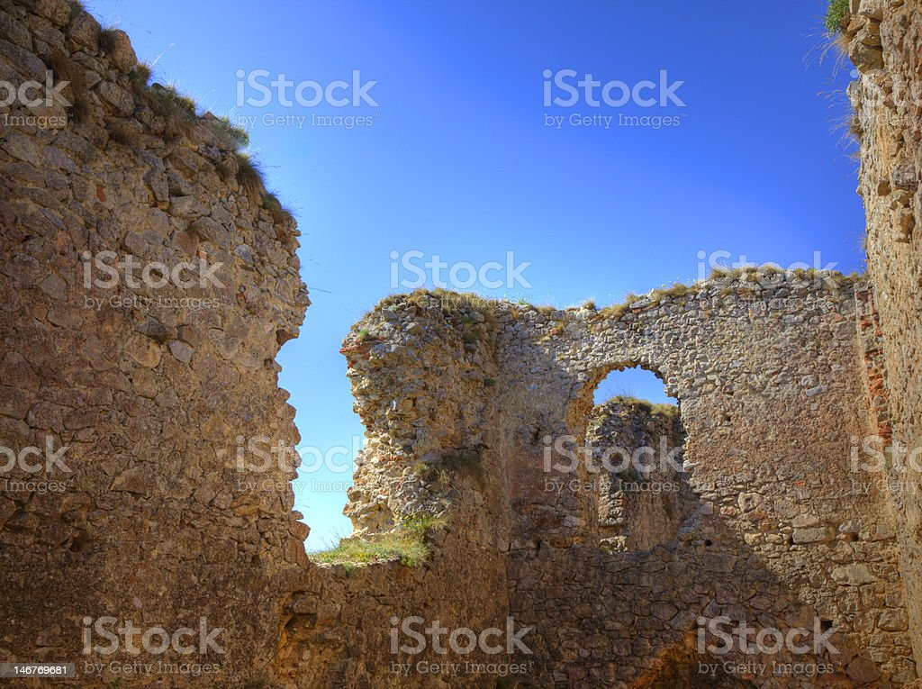 Medieval fortress royalty-free stock photo