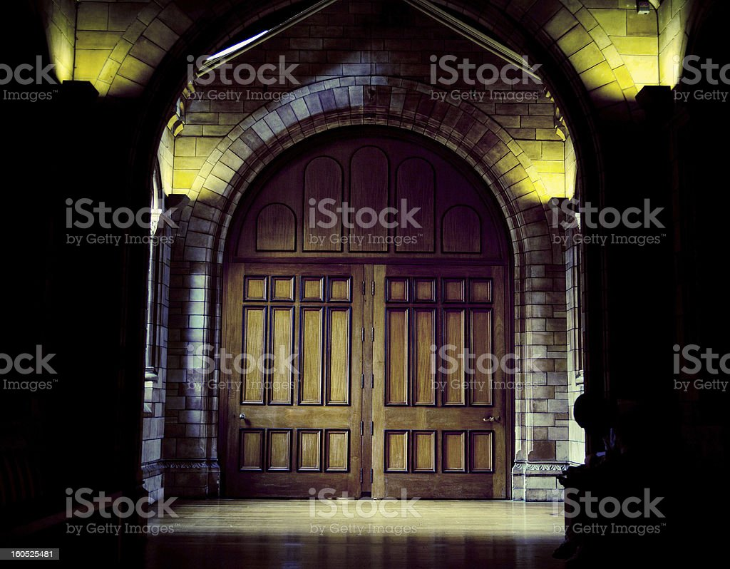 Medieval gate royalty-free stock photo