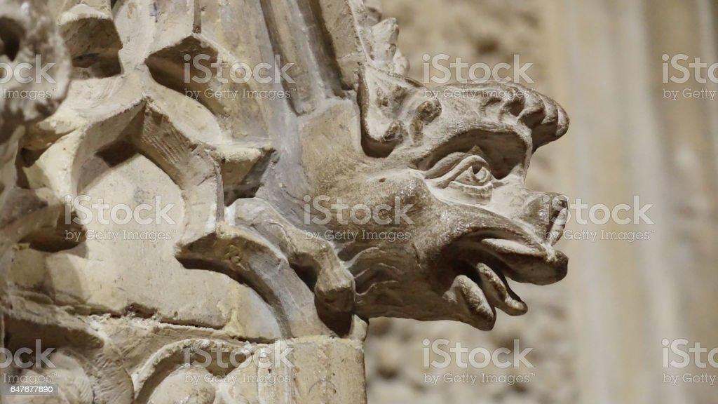 Medieval Grotesque stock photo