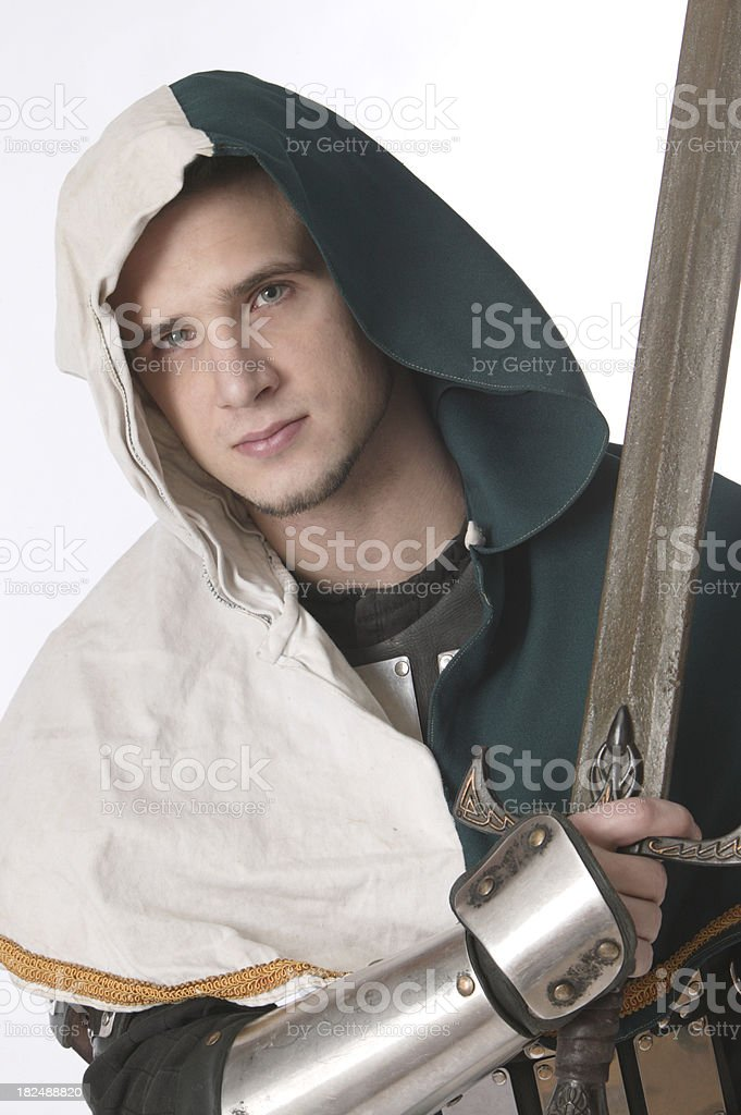 medieval guy royalty-free stock photo