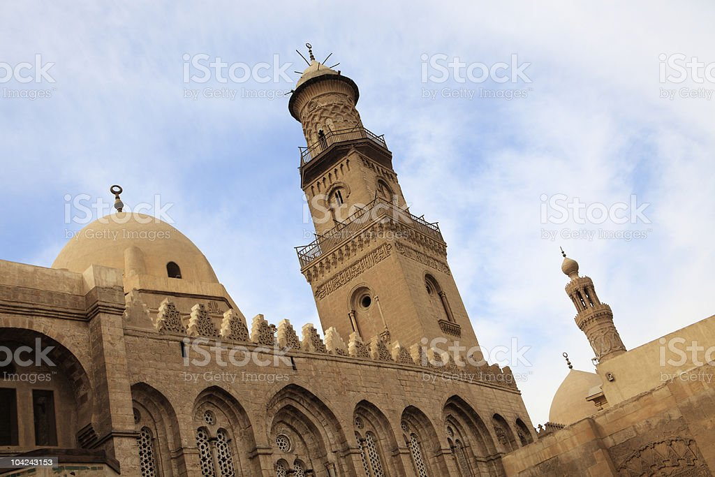 Medieval Islamic Architecture - Cairo stock photo