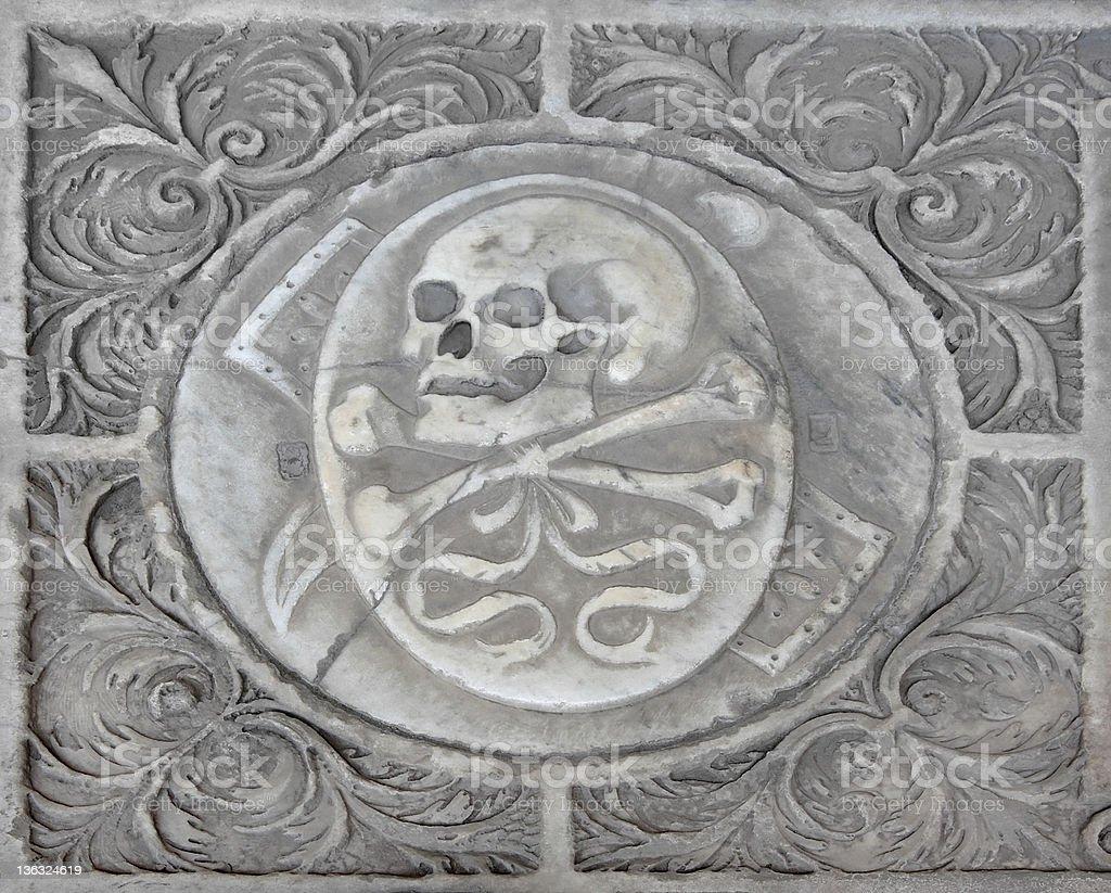 Mittelalterlichen Italienisch Krypta Lizenzfreies stock-foto