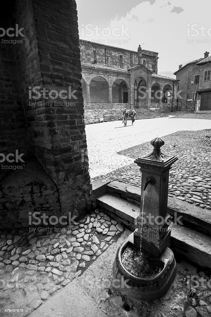 medieval Italian royalty-free stock photo