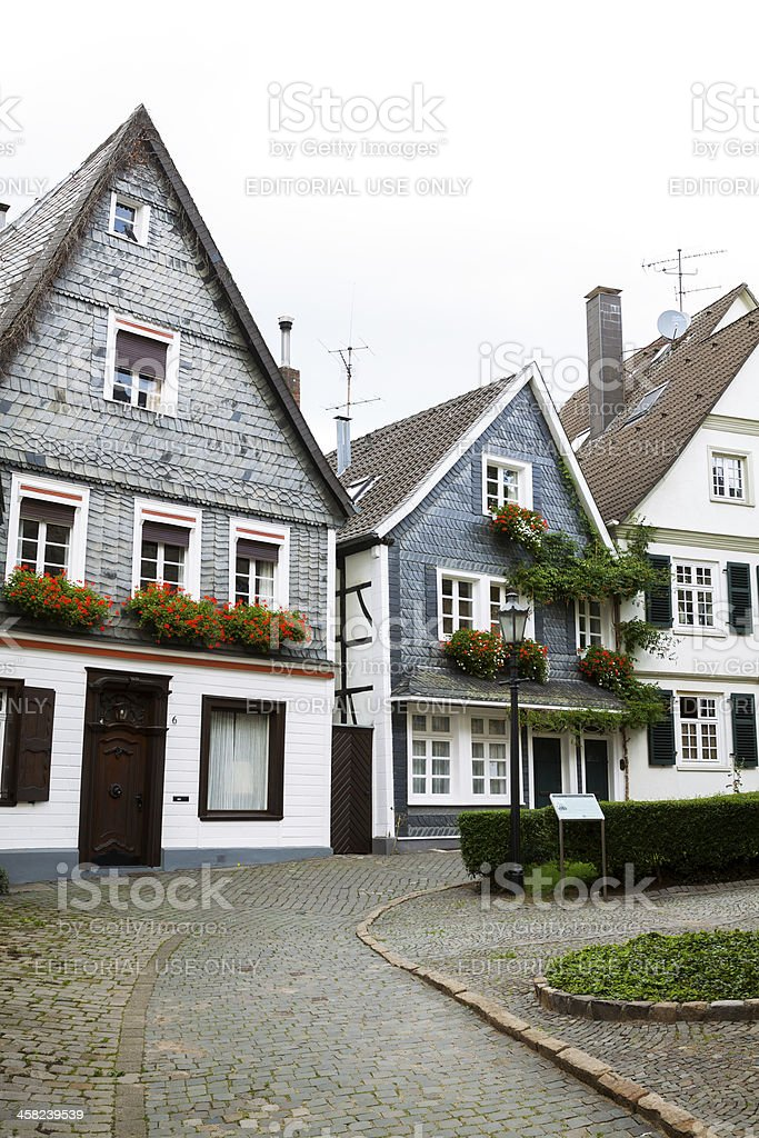 Medieval Kettwig royalty-free stock photo