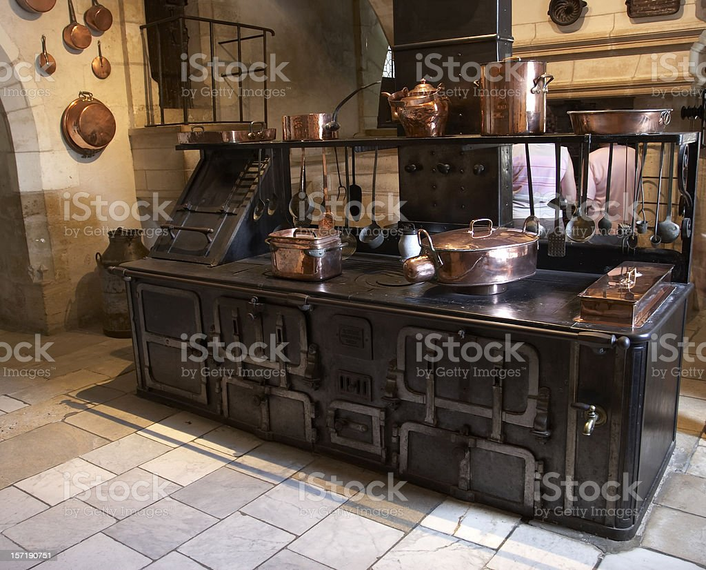Medieval kitchen royalty-free stock photo