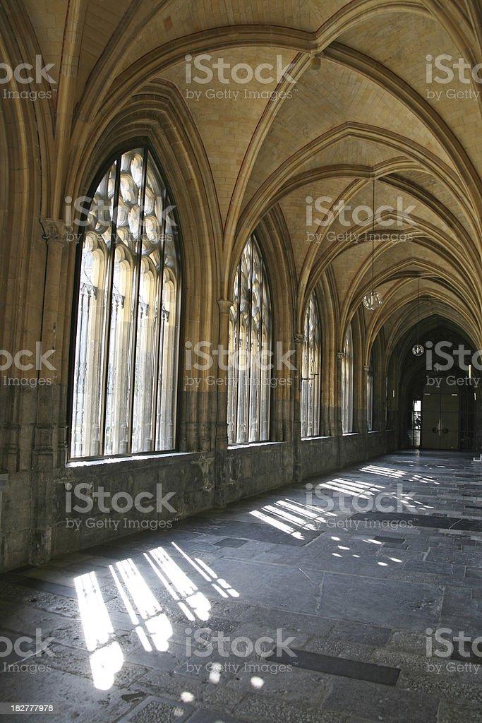 Medieval Monastery royalty-free stock photo