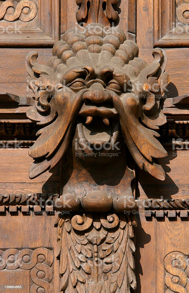 Medieval Monster royalty-free stock photo