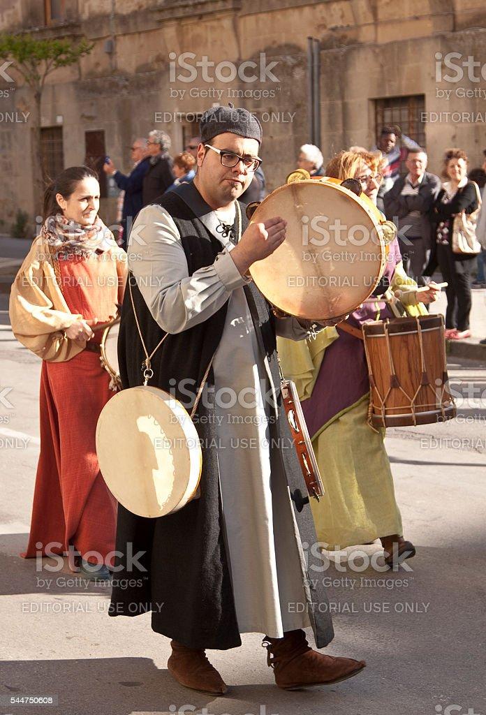 Medieval Parade octies stock photo