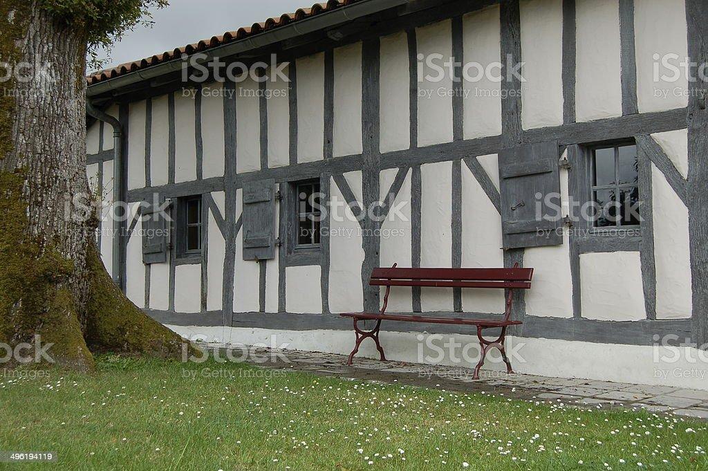 Medieval Ranquines Home of Saint Vincent de Paul, France stock photo
